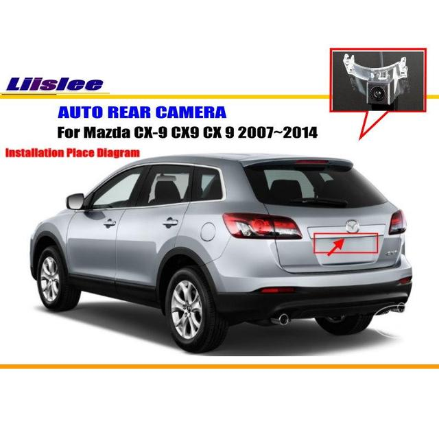 Liislee Car Rear View Camera For Mazda CX 9 CX9 CX 9 2007~2014