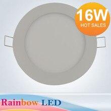 НОВЫЙ бесплатная доставка 16 Вт светодиодная Панель верхнего света ванная комната light2835LED (80 шт.) AC85V ~ 265C) 1440lm