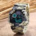 SANDA Relojes Deportivos Para Hombres Correa Del Silicón Led Digital Reloj de Los Hombres 2016 Impermeable de Lujo Hombres Reloj de Cuarzo Relogios masculinos