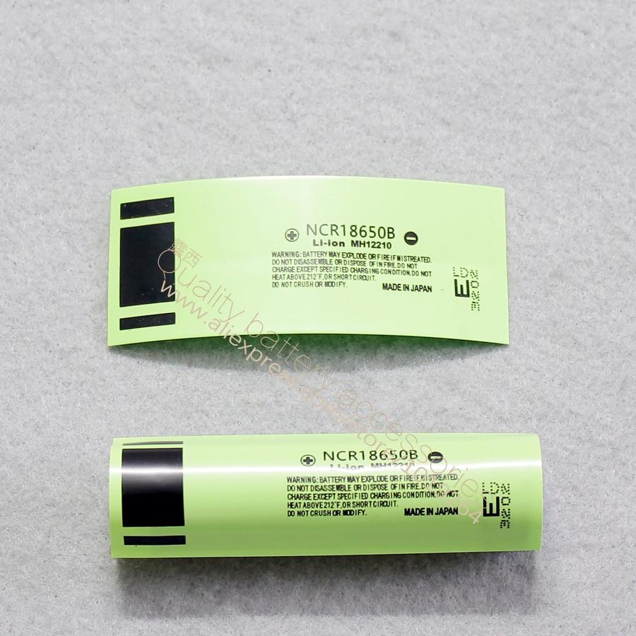 18650 литиевая батарея пакет корпус термоусадочная корпус батареи крышка батарейного отсека кожа ПВХ термопленка 3400 МАЧ