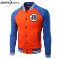 New Arrival Men Dragon Ball Fashion Jackets High Quality O-Neck Male Casual Autumn Wear Jackets brand clothing winter jacket men