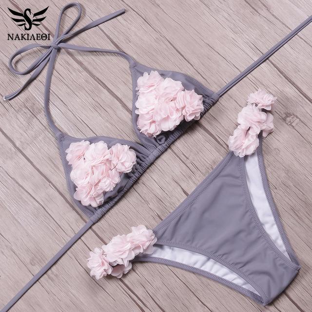 Floral Brazilian Bikini Set
