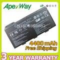 Apexway 4400 mAh 11.1 v Bateria Do Portátil Para MSI CX620 A6205 CX500 CX623 CR630 BTY-L74 BTY-L75 91NMS17LD4SU1 91NMS17LF6SU1 6 células