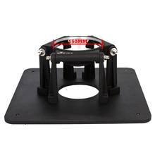 Профессиональная видеокамера с низким углом съемки панорамирования 150 мм чаша короткая тренога подставка нагрузка 188 кг для OConnor 2560 2575D жидкость Тяговая головка