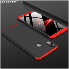 Phone Cases For Xiaomi MAX 3 Case 360 Full Protective in 1 Matte Hard PC Shockproof Cover