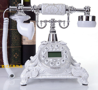 Fashion cute retro European antique telephone landline caller ID phone