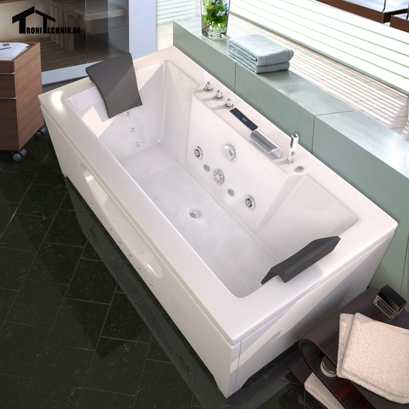 1700mm Piscine Hot tub Massage 2 person Bathtub hot tub corner spa ...