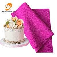 New Arrive Fondant Mould Lace Mat Impression Mats Silicone Lace Mat Cake Lace Mold Silicone Sugar