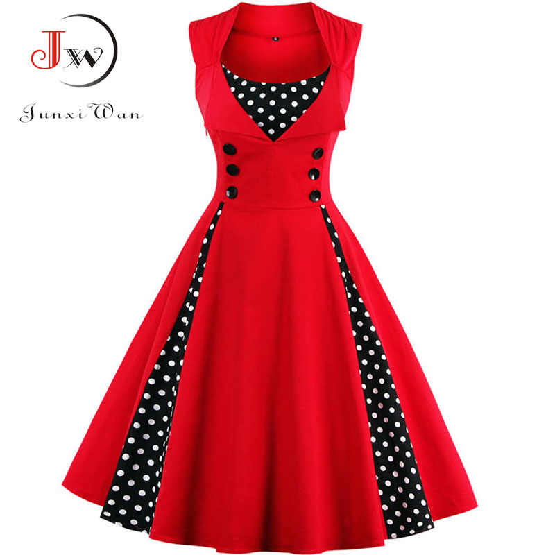 Children Kids Girls 50s Vintage Floral Swing Pin up Dress Party Casual Clothes