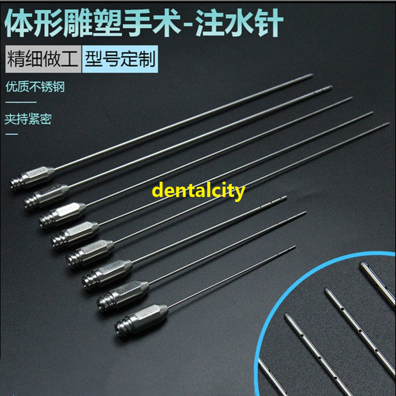 High Quality Stainless Steel Water Injection Needle Plastic Surgery For Aesthetic Facial Restoration