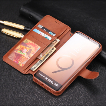 Wallet Flip Case Galaxy S9 Plus