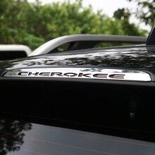 Shineka высокое качество Нержавеющаясталь заднего высокого стоп украшения крышка для Jeep Cherokee 14-16 автомобиля Интимные аксессуары