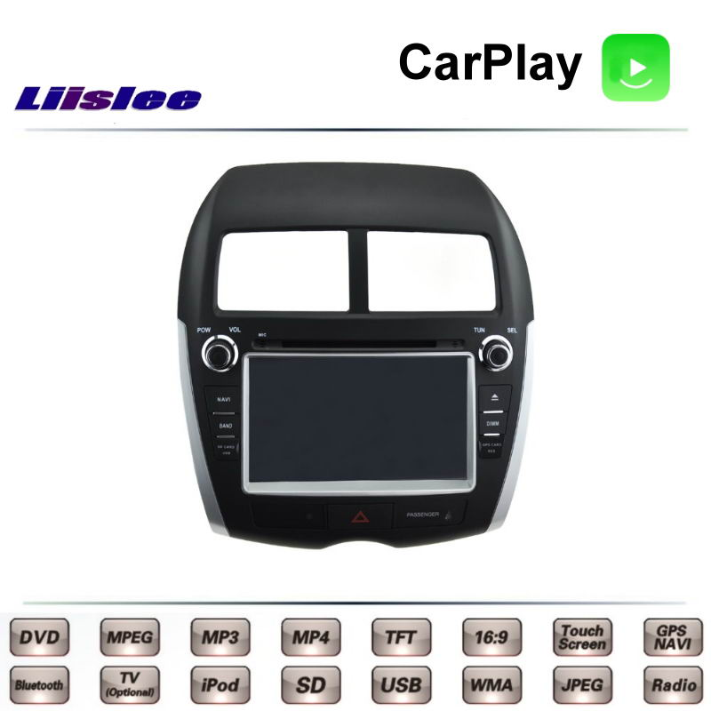 for mitsubishi asx rvr outlander sport 2010 2016 car multimedia tv dvd gps radio carplay. Black Bedroom Furniture Sets. Home Design Ideas