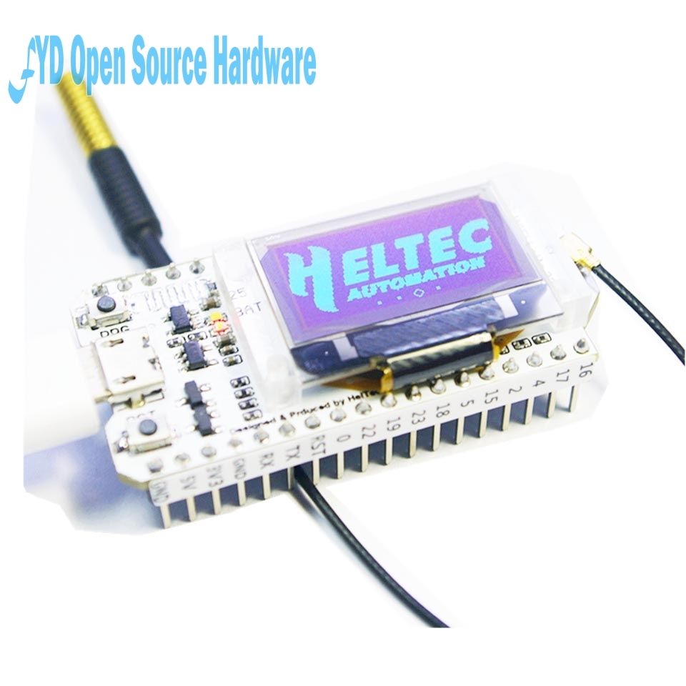 SX1278 868-915MHz ESP32 0 96 inch Blue OLED Display Bluetooth WIFI Lora Kit  32 Module Internet Development Board for arduino