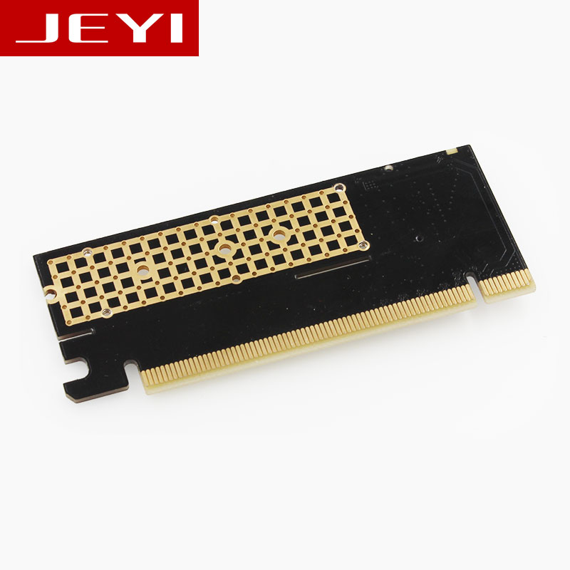 JEYI MX16 M.2 NVMe SSD NGFF TO PCIE 3.0 X16 adapter M Key interface card Suppor PCI Express 3.0 x4 2230-2280 Size m.2 FULL SPEED цена 2017