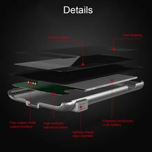 Ultra Thin Rechargeable Backup External Battery Charger Case Power Bank Powerbank Case Pack Cover for iPhone 6/6s