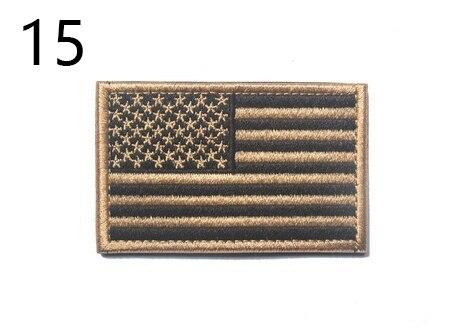 Bandeira Americana Usa Tático Militar Moral Uniforme de combate do exército darkhookloopbrand Fixador Patch