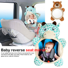 Adjustable Safety Car Baby Mirror Back Seat Headrest Rearview Facing Rear Ward Infant Kids Monitor