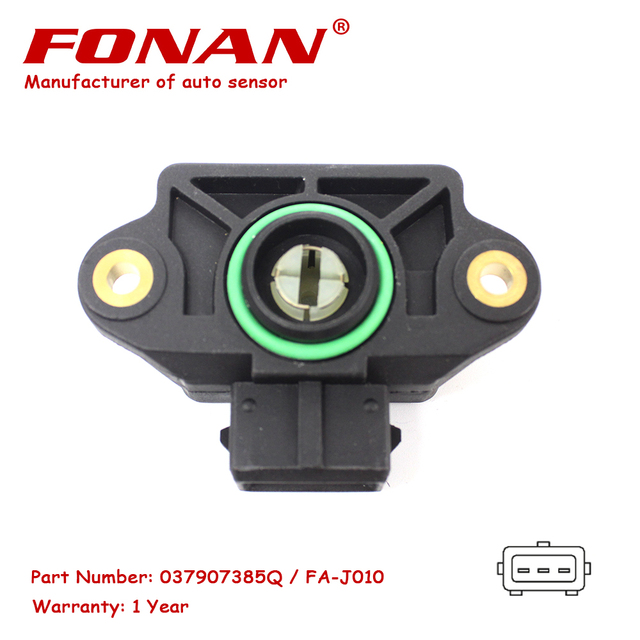 Capteur daccélérateur de Position | De haute qualité, pour le Golf 2.0 Mpfi Vw Golf 2.0 16v Gti 92 A 99 037907385Q