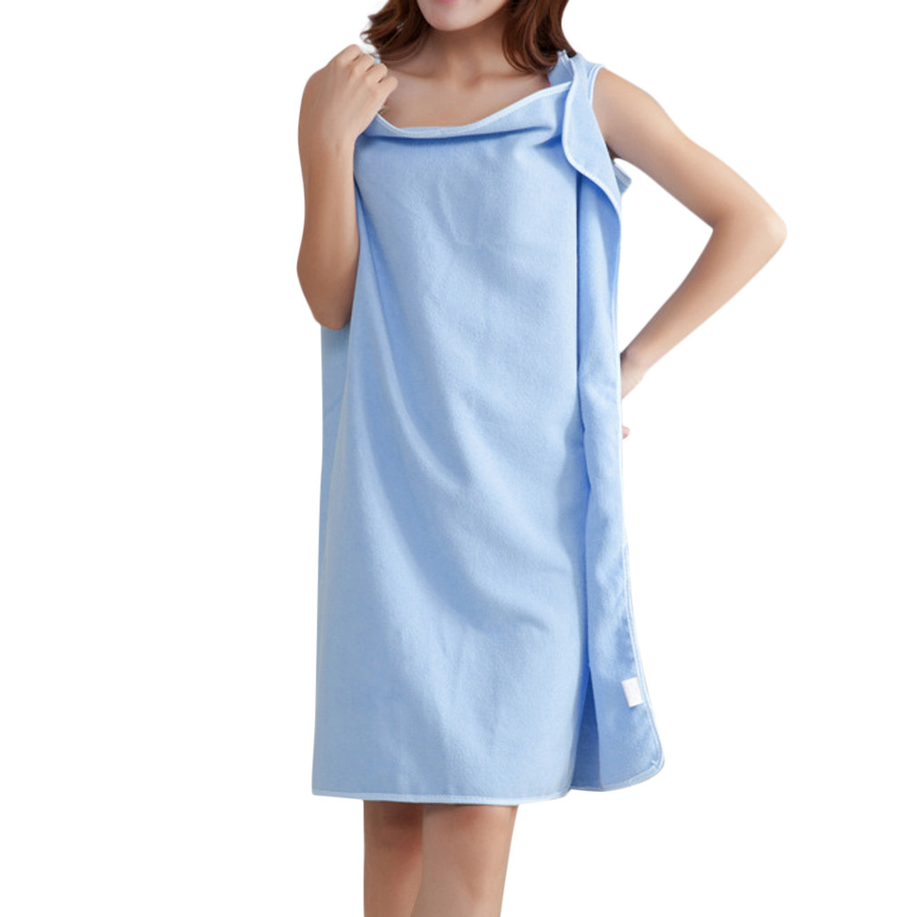 Home Textile Towel Women Robes Bath Wearable Towel Dress Girls Women Lady Fast Drying Beach Spa Magical Nightwear Sleeping #35