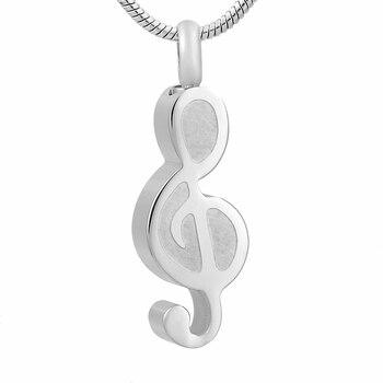 impressjewelry Music Note Design Jewelry Memorial Necklace mariposa en plata anillo