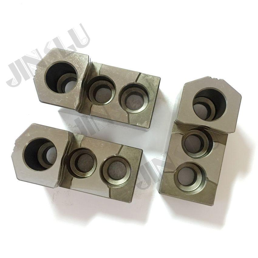 HJ жесткие челюсти (серия HJ) для гидравлических патронов HJ 15 один набор (3 челюсти)