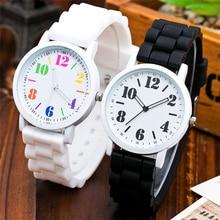 Vansvar Luxurious Ladies Sports activities Watch Candy Jelly Silicone Wristwatch Style Informal Quartz Watch Relogio Feminino Sizzling Promoting 1980
