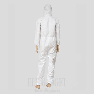 Image 2 - Disposable Waterproof Oil Resistant Protective Coverall For Spary Painting Decorating Clothes Overall Suit L/XL/XXL/XXXL