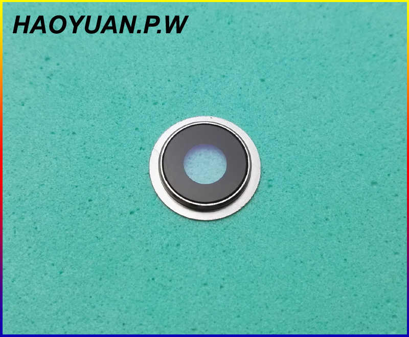 HAOYUAN.P.W New Original Housing Rear Back Camera Glass Lens + Metal Ring Hold For Meizu U10/U20