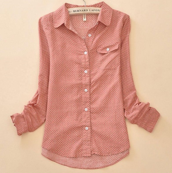 Cotton shirts for women artee shirt for Women s broadcloth shirts