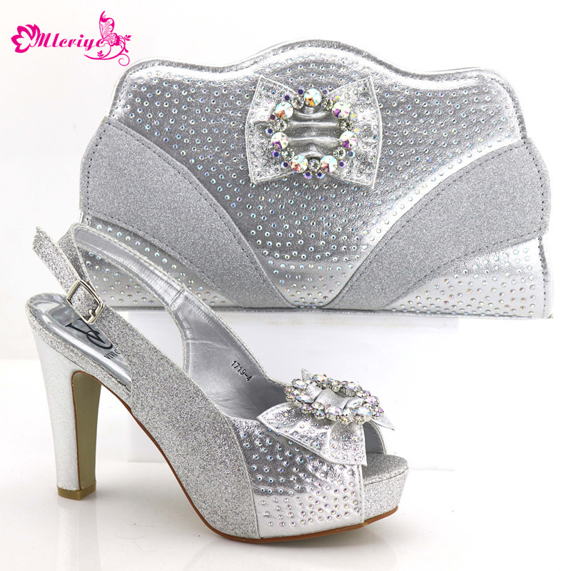купить African Shoe and Bag Set Italian Shoe and Matching Bag for Nigeria Party Nigerian Wedding Shoes and Bag Set Decorated with Stone по цене 5375.2 рублей