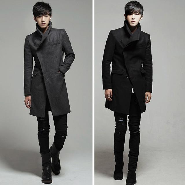 New 2016 Mens Designer Clothing British Style Trench Coat Autumn Jacket Windbreaker Men Overcoat Casacos Hot sale