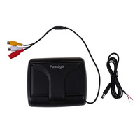 Fasdga Foldable 4 3Inch Color LCD TFT Reverse Rear View Monitor For Car Back Up Camera