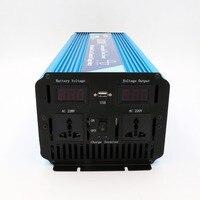 24В ДЛЯ 220В 3000 Вт UPS Чистая Синусоида Инвертор встроенный зарядное устройство для Солнечной Домашней Системы, CE