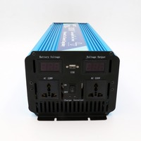 DC24V TO AC220V 3000W UPS Pure Sine Wave Invertor built in battery charger for Solar Home System,CE