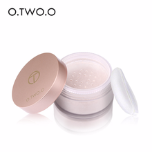 цена O.TWO.O Fixed Makeup Loose Powder with Makeup Puff Lasting Oil Control Concealer Waterproof Bright White Moisturizing Matte в интернет-магазинах
