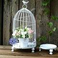 Железная клетка для птиц  европейская клетка для птиц  декоративный стол  стойка для цветов  декоративная клетка для цветов. Украшение цвето...