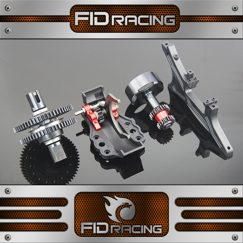 FID racing A key to reverse gear system for losi 5ive t kmx2 rovan lt