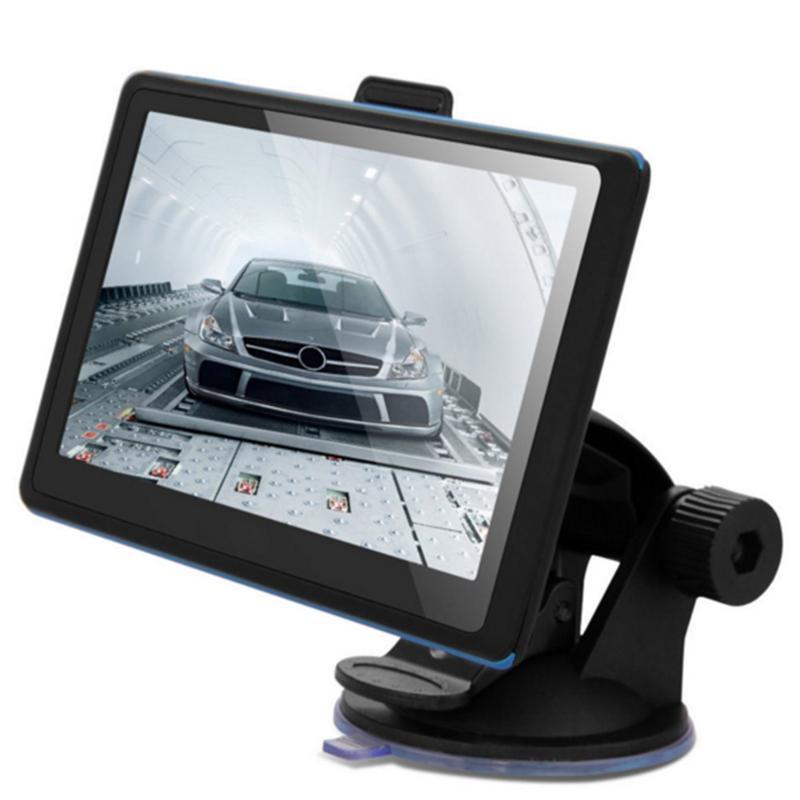 7inch 4GB Car GPS Navigator Navigation System NAV FM with Free Maps Navitel Europe Sat Nav Truck GPS Automobile High Quality junsun d100 car gps navigator with free maps