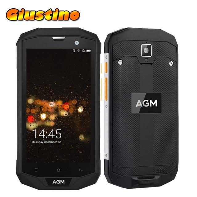 Original AGM A8 IP68 Waterproof Android 7 0 5 0 HD 3 4GB RAM 32 64GB