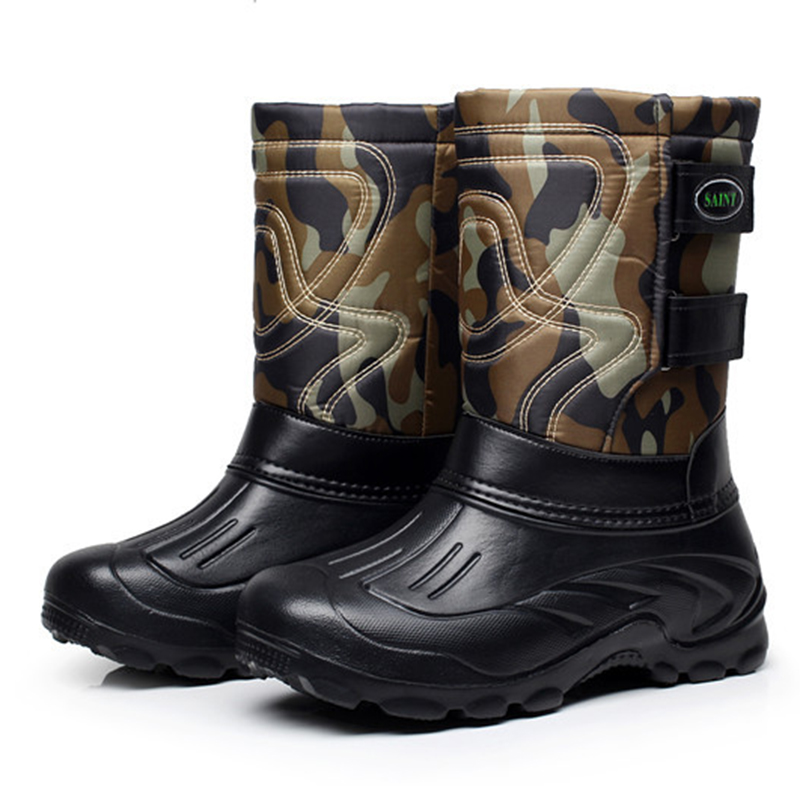 New Roman Super Warm Men Winter Boots for Men Warm Waterproof Boots Shoes Men's Ankle Snow Boots