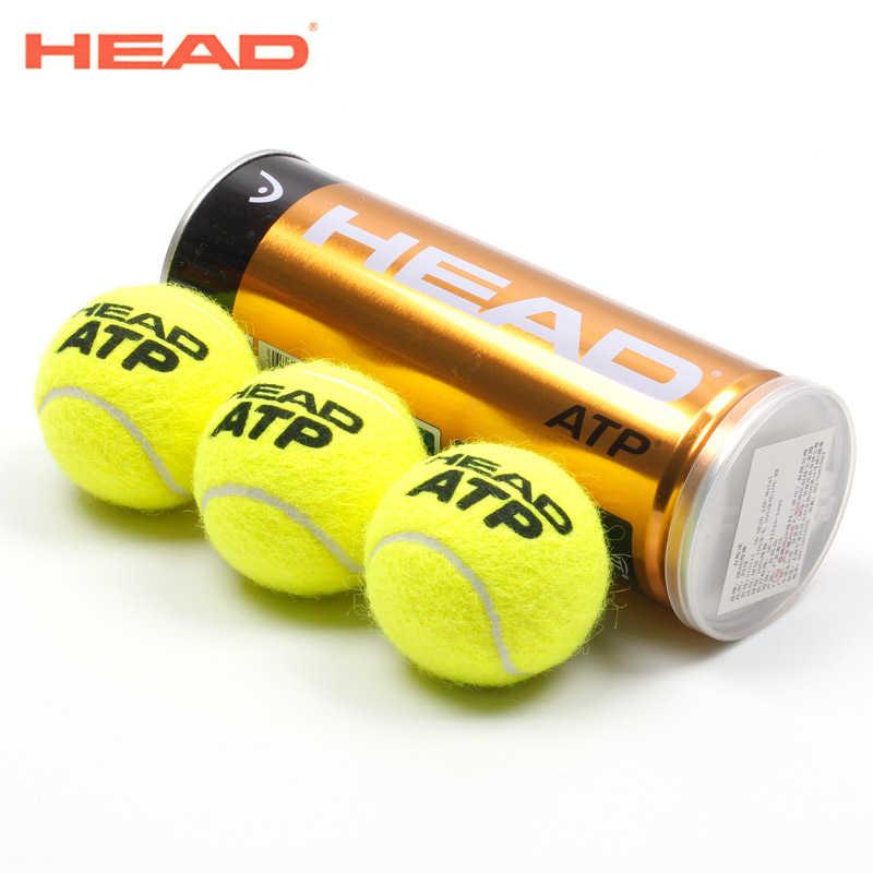 Глава 3 шт./трубки оригинал ATP Теннисные Мячи официальный Теннис шар London мастер raquete де Теннис мяч для тренировочный мяч