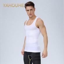 Männer Herren-körper-former Bauchfett Unterwäsche Weste-hemd-korsett-kompression Bauch Body Shaper Bauch Fettsäuren Thermo-unterwäsche
