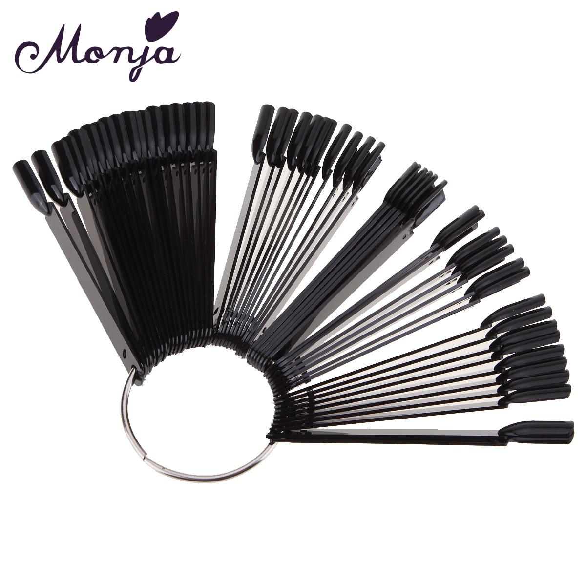 Aliexpress Buy Monja 50pcs Fan Shaped Nail Art