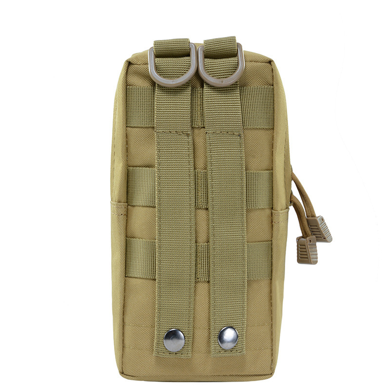 2PCS Military 900D MOLLE Pouch First Aid Kit Bag Tactical Utility Bags Vest Gadget Hunting Sport Waist Pack Outdoor Equipment