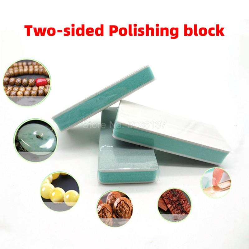 1Pcs Home For Finger Toe Nails On Both Sides Nail Polishing Block Tool Files & Buffers Fast Use Sponge File Sanding Tools Women