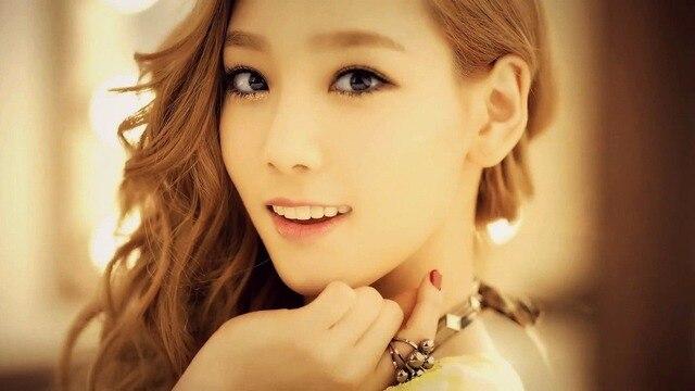 Taeyeon snsd ster posters koreaanse meisje groep zijde poster art