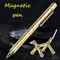 2018 Magnetic Polar Pen Metal Magnet Modular Think Ink Toy Stress Fidgets Antistress Focus Hands Touch