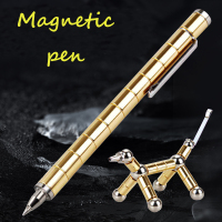 2018 Magnetic Polar Pen Metal Magnet Modular Think Ink Toy Stress Fidgets Antistress Focus Hands Touch