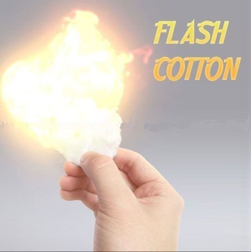 0.7 Ounce (20 Grams) Magic Cotton / Fire Magic Refill- Fire Magic Tricks